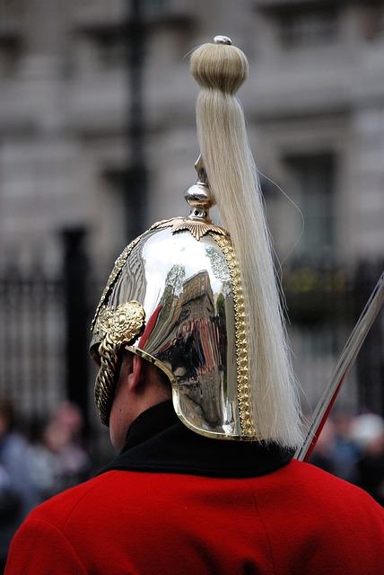 Free guard man helmet plume life guards ceremonial