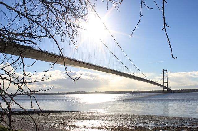 Free humber bridge bridge suspension bridge