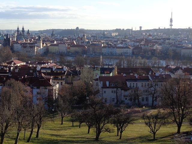 Free prague panorama the old town