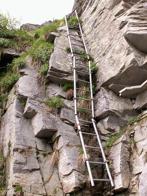 Free trail head rock granite calancatal switzerland