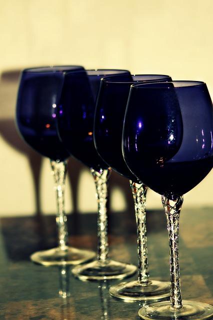 Free wine glass red glass