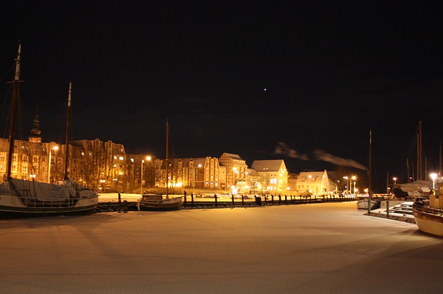 Free greifswald port of greifswald ship port winter ice