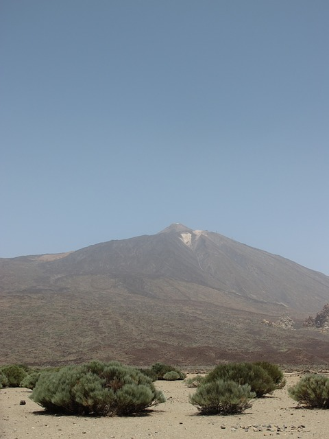 Free teide tenerife mountain canary islands nature