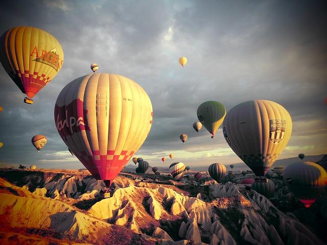 Free turkey kia cap-wave hot air balloon beolryun