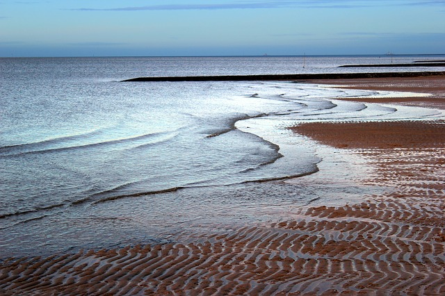 Free north sea wadden sea sea beach ebb sky water