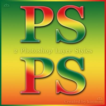 Free Rasta / Tropical Photoshop Styles
