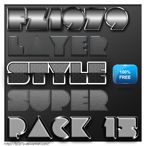 Free Styles: Super pack layer style 15 | Flavio