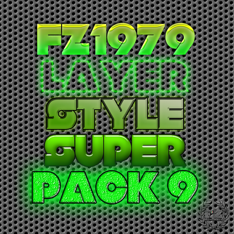 Free Styles: Super pack layer style 9 | Flavio