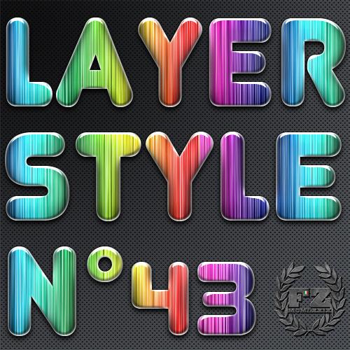 Free Styles: Photoshop Style 43 | Flavio