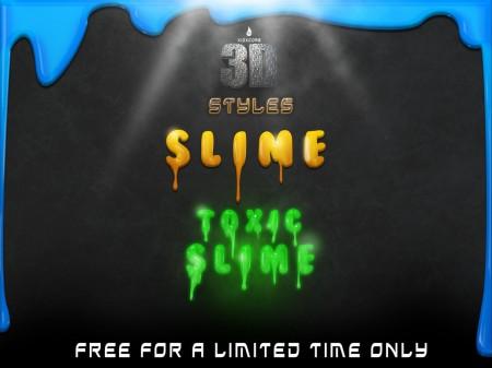 Free 3D Slime Styles