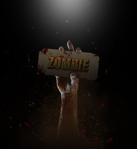 Free Zombie Layer Style