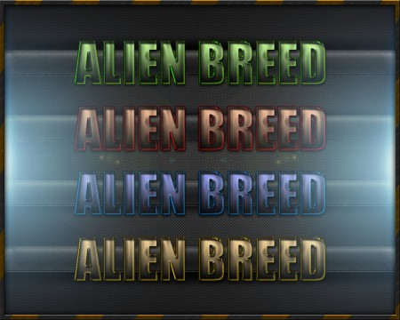 Free Alien Breed Text Styles