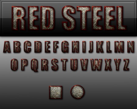 Free Red Steel Style