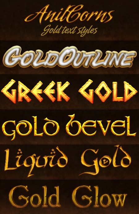 Free Gold Styles