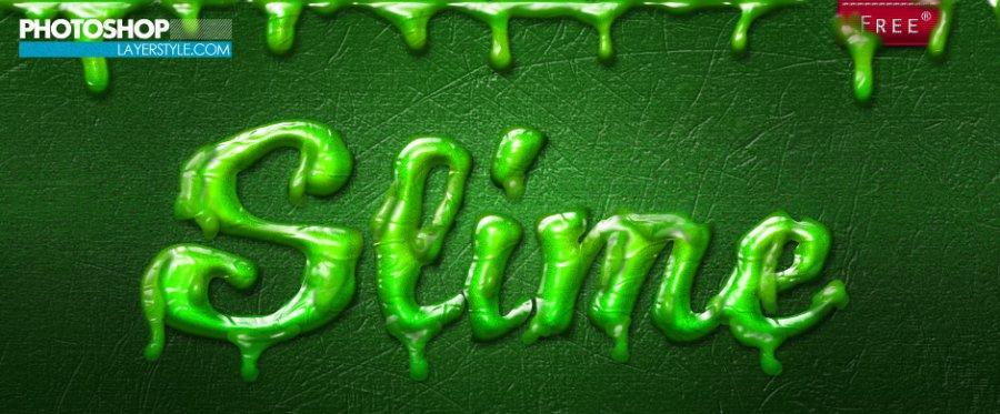 Free Styles: Slime Layer Styles | Michael Kruiswijk