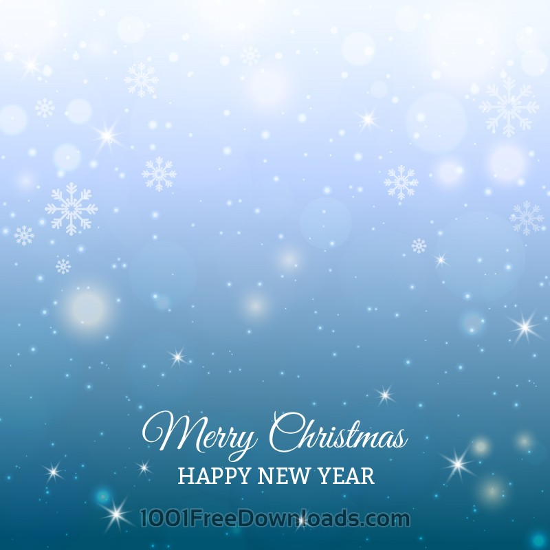 Free Christmas background with typography