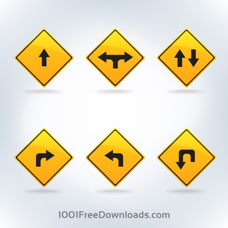 Free Traffic signs set