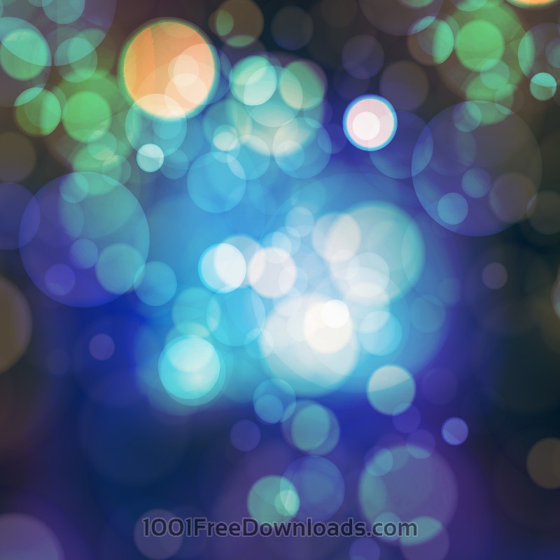 Free Bokeh illustration