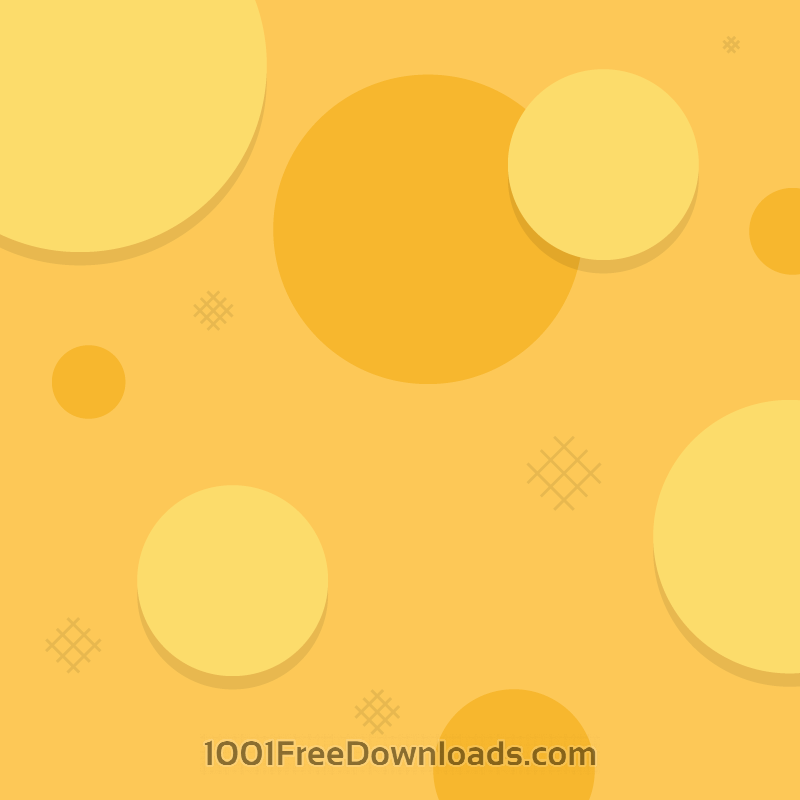 Free Simple Orange Circles