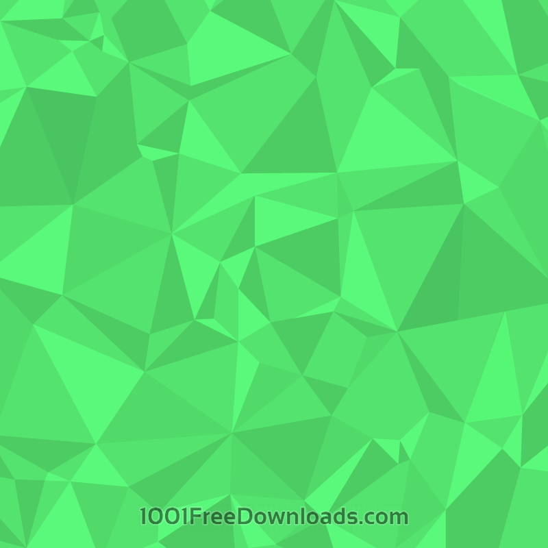 Free Vectors: Green Polygons | Abstract