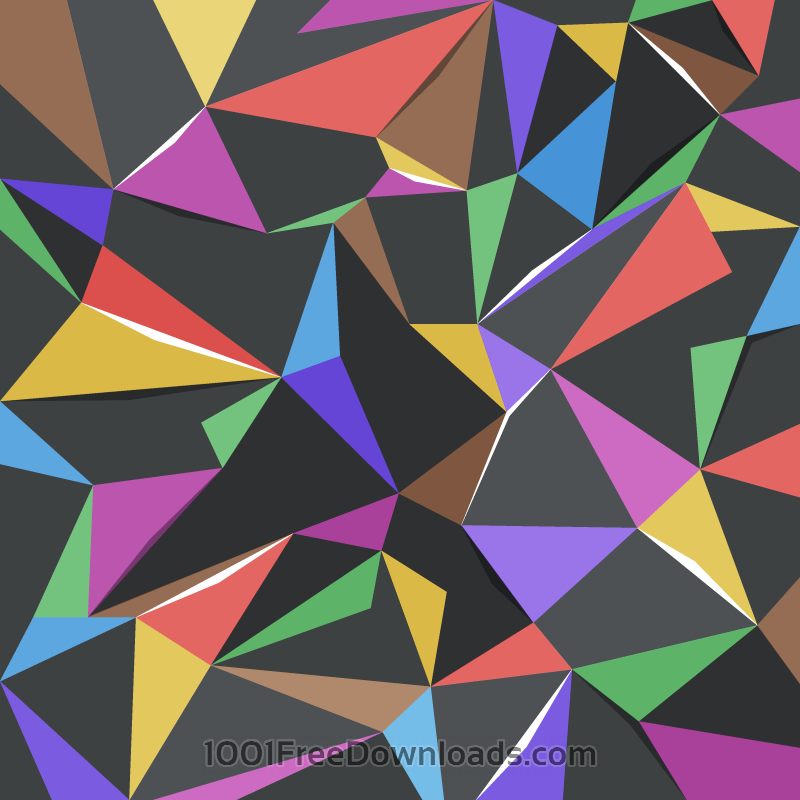 Free Colorful Triangles