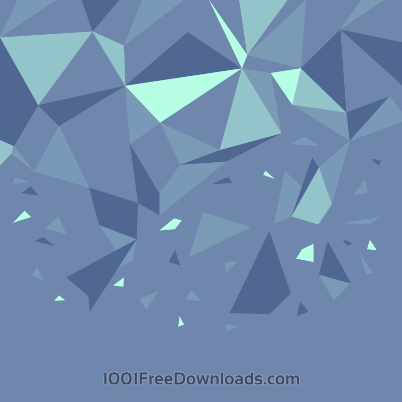 Free Shattered Polygons