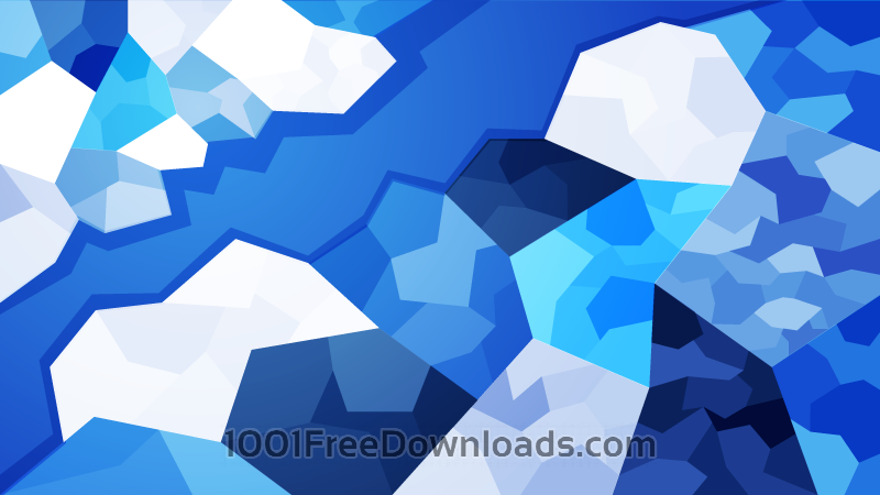 Free Vectors: Icy Polygons | Abstract