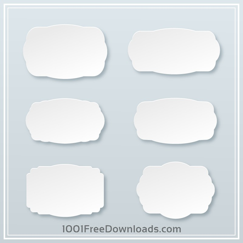 Free Frames vector set