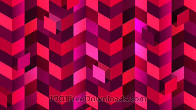 Free Red Squares in Perspective