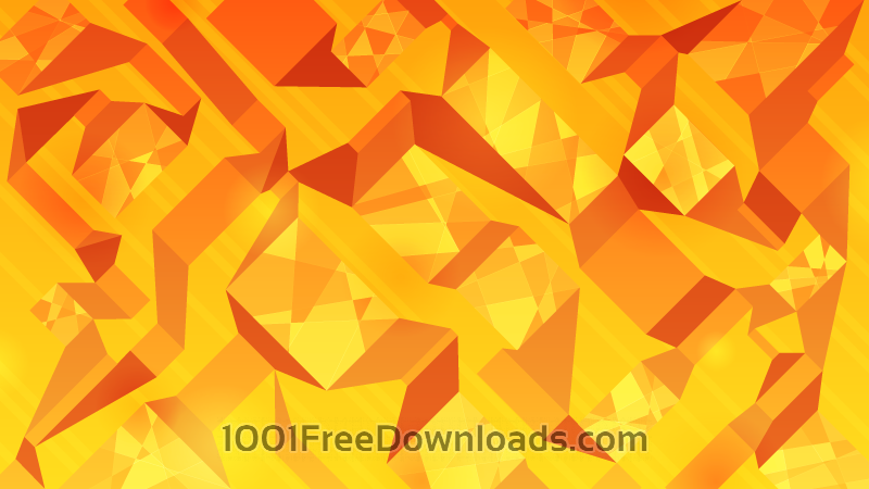 Free Orange Abstract Ribbons