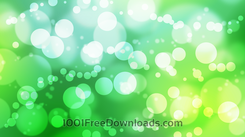 Free Vectors: Busy Green Bokeh | Abstract