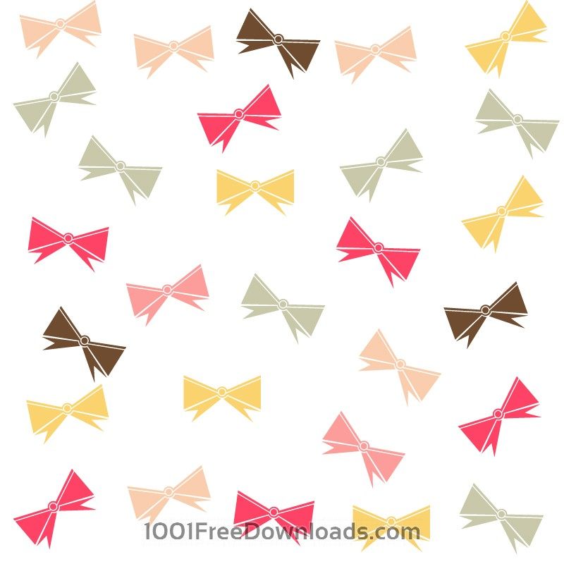 Free Vectors: Pattern with ribbons | Abstract