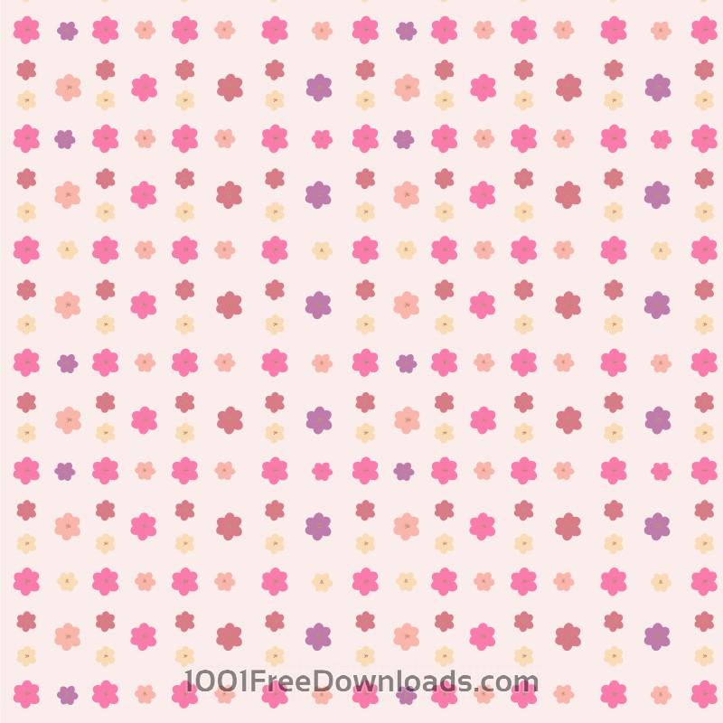 Free Vectors: Flower pattern | Patterns