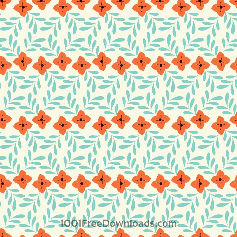 Free Flower pattern