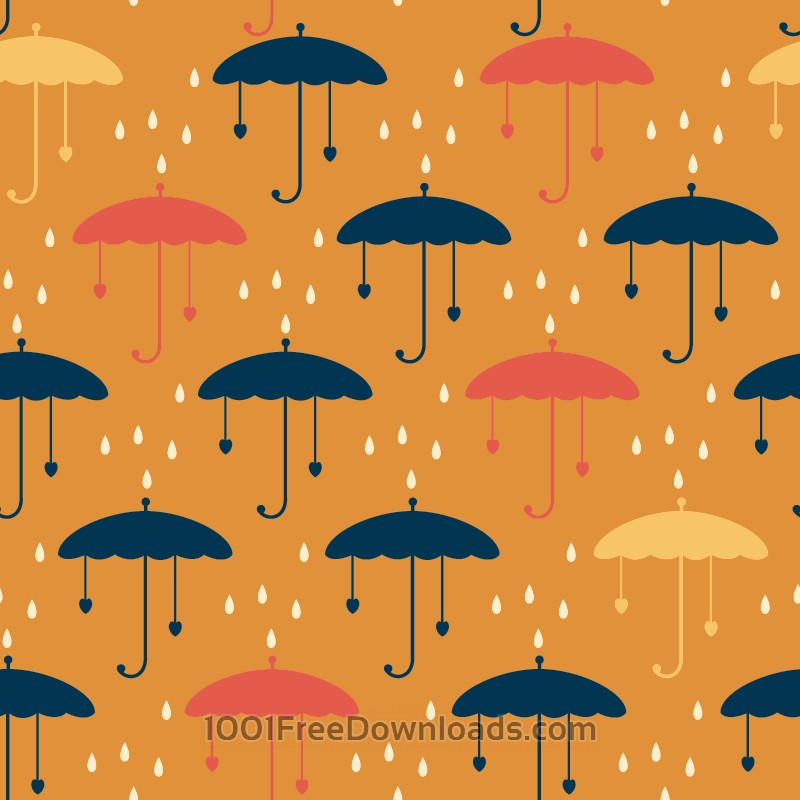 Free Vectors: Umbrella pattern | Abstract