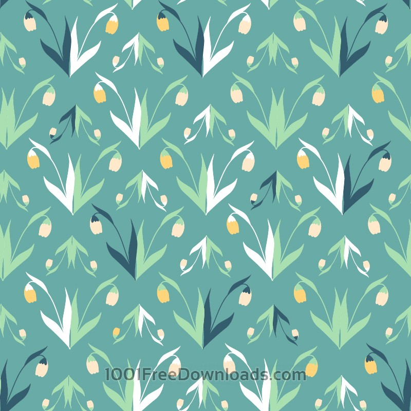 Free Vectors: Flower pattern | Abstract