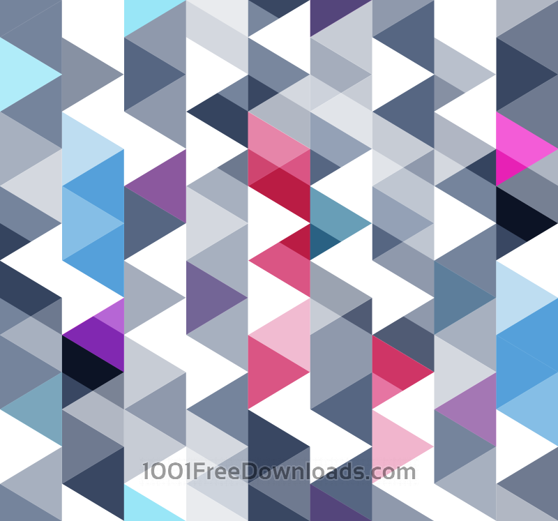 Free Vectors: Triangles Pattern | Patterns