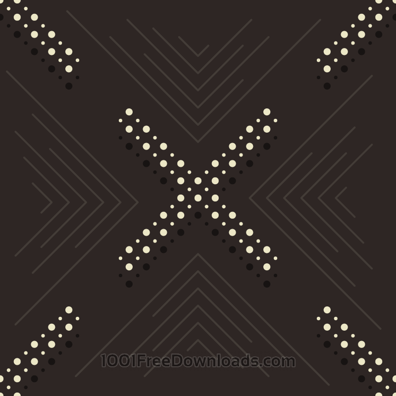 Free Dots and Lines Pattern