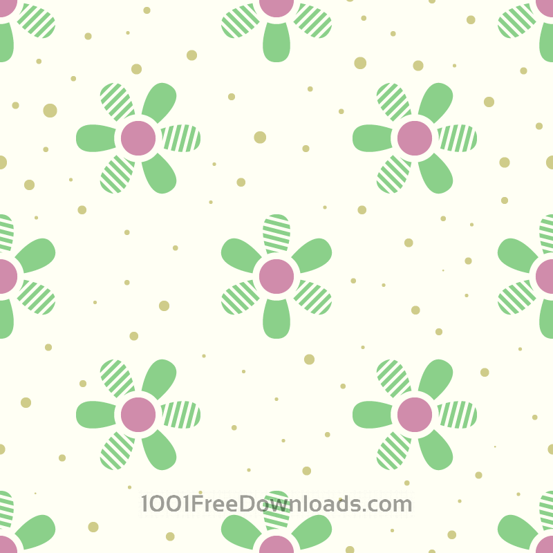 Free Vectors: Flower Pattern | Patterns
