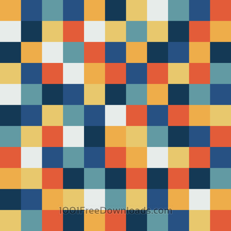 Free Fun Pixels Pattern