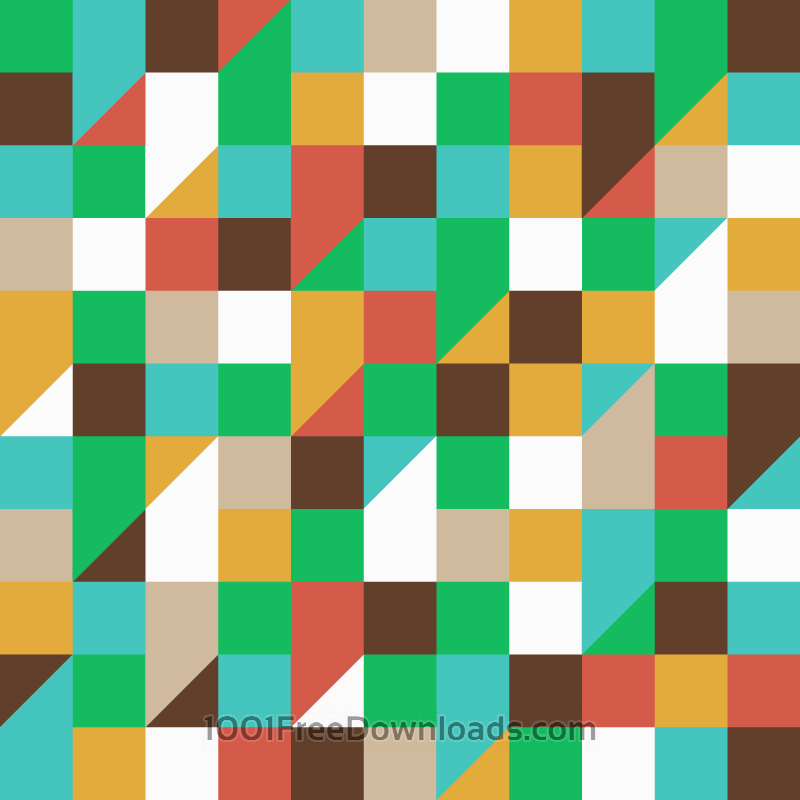 Free Vectors: Squares and Triangles Pattern | Patterns