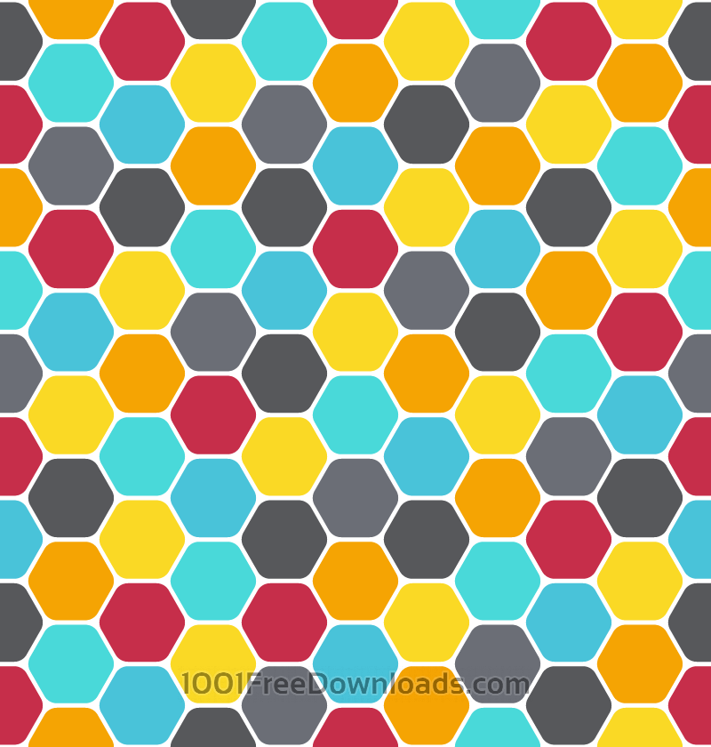 Free Honeycomb Pattern