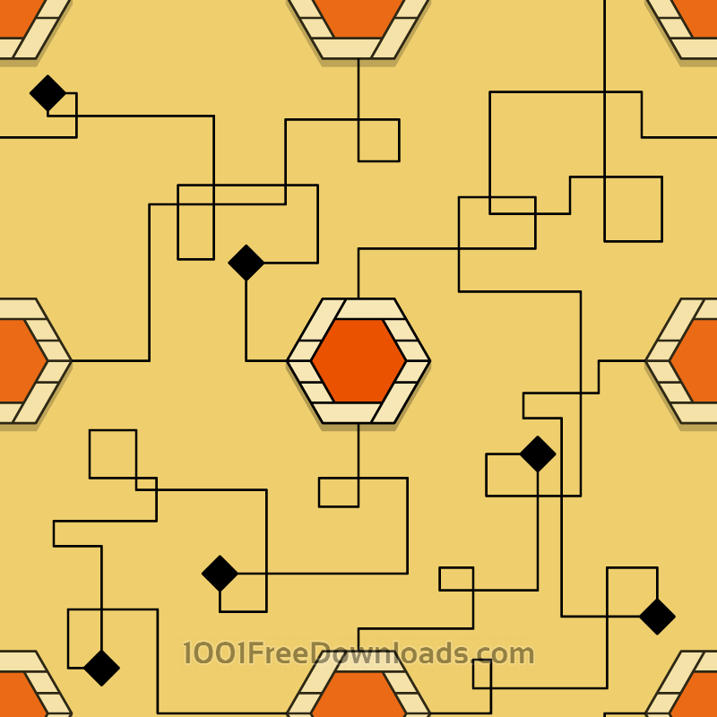 Free Yellow Lines Pattern