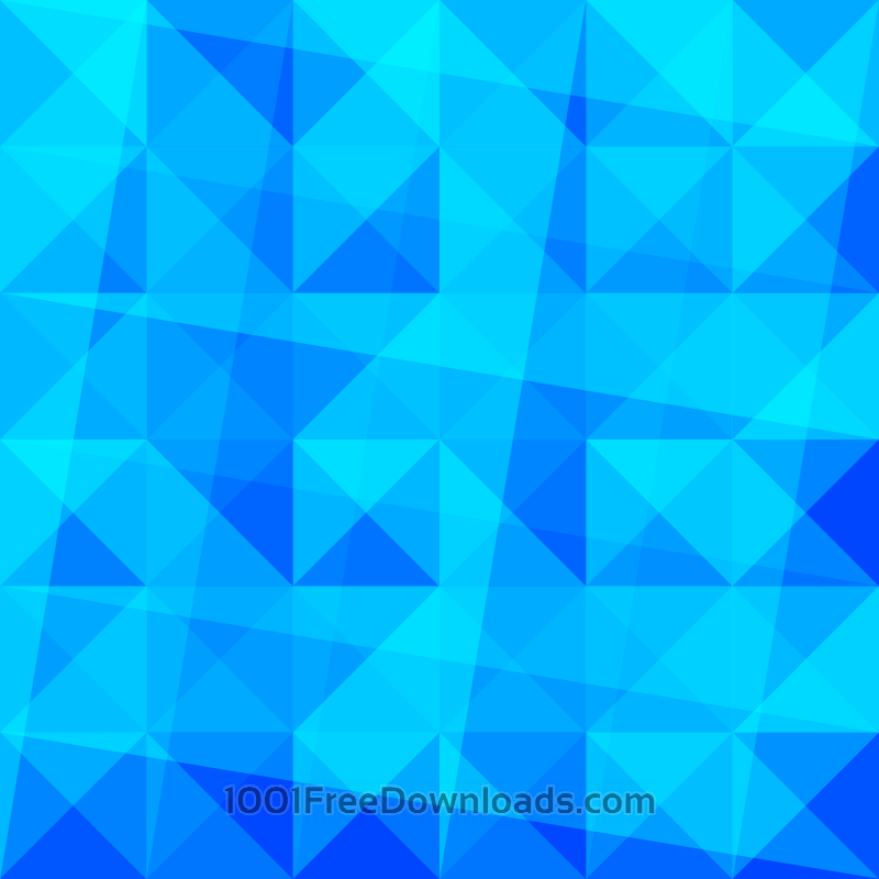 Free Blue Triangles Pattern