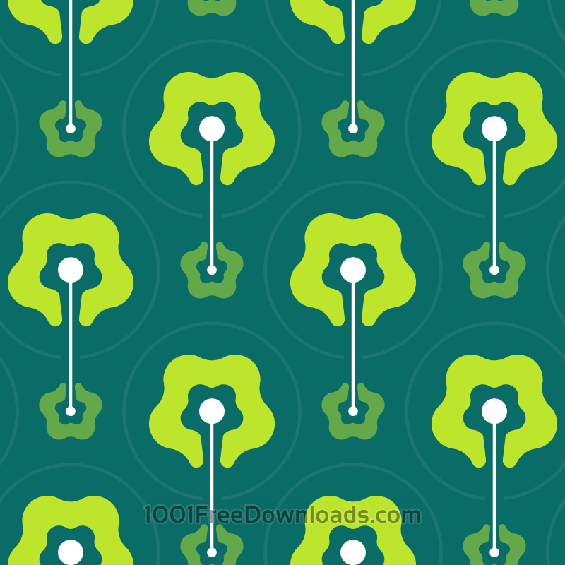 Free Vectors: Green Abstract Pattern | Patterns