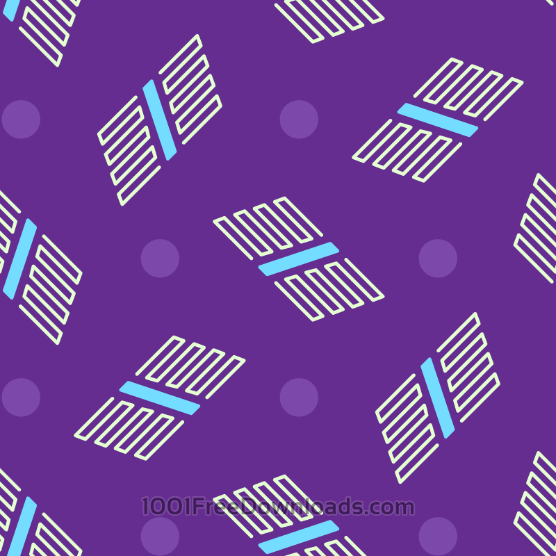 Free Abstract Shapes Pattern