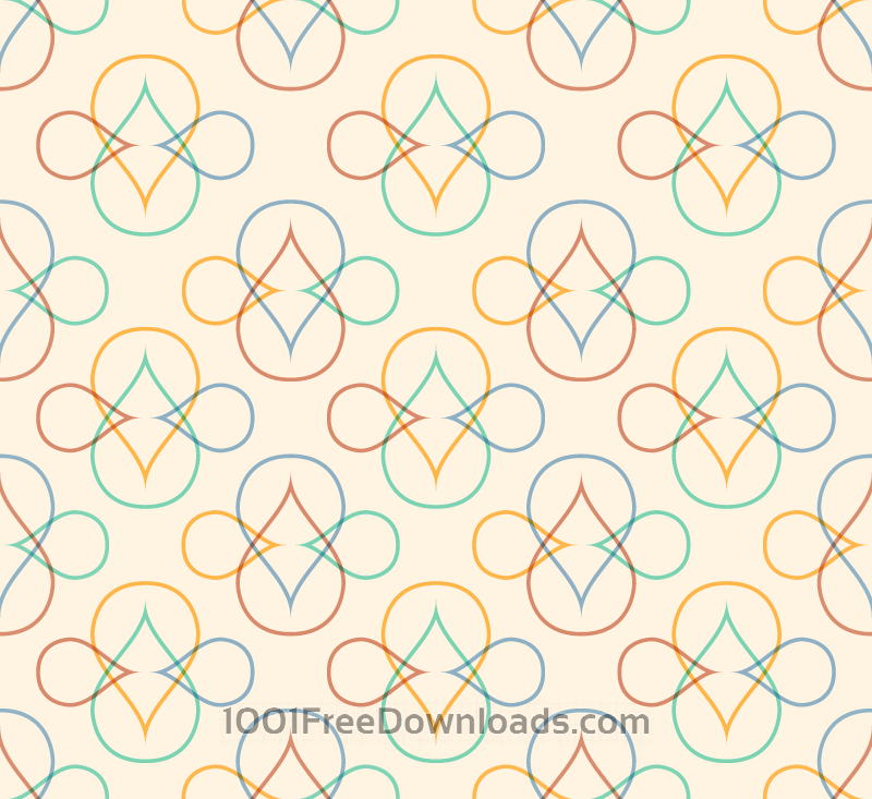 Free Abstract Line Pattern