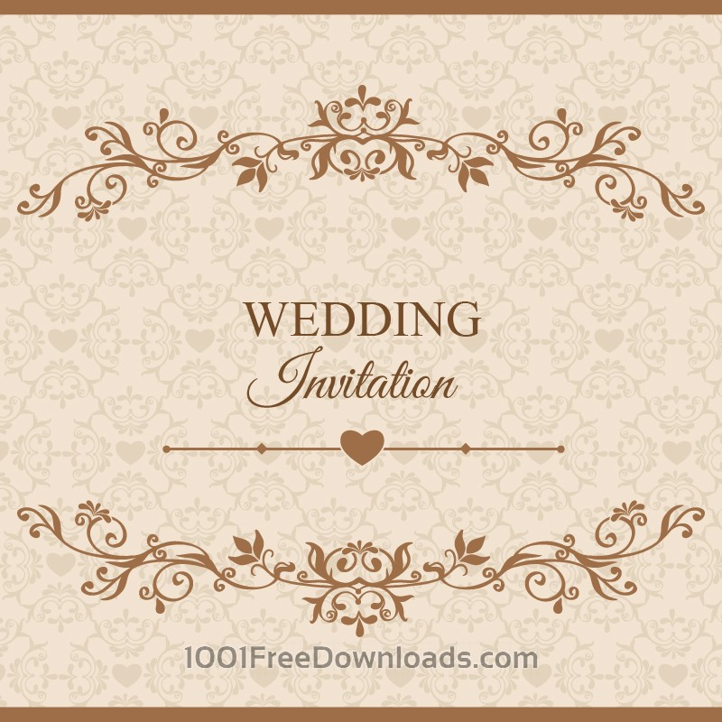 Free Vectors: Wedding vector illustration | Flowers