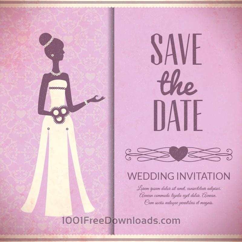 Free Vectors: Wedding vector illustration | Backgrounds