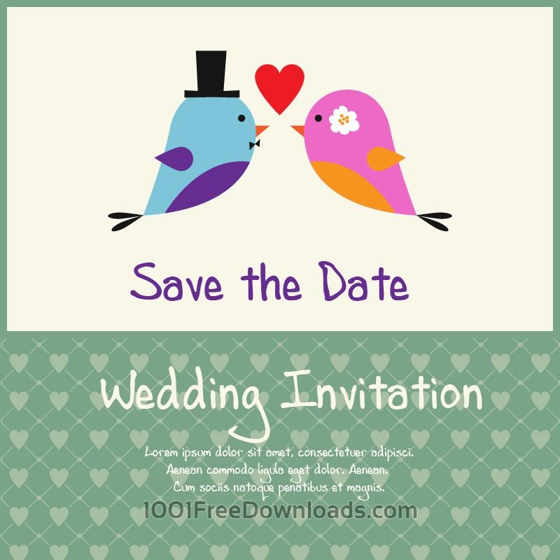 Free Vectors: Wedding vector illustration | Valentine